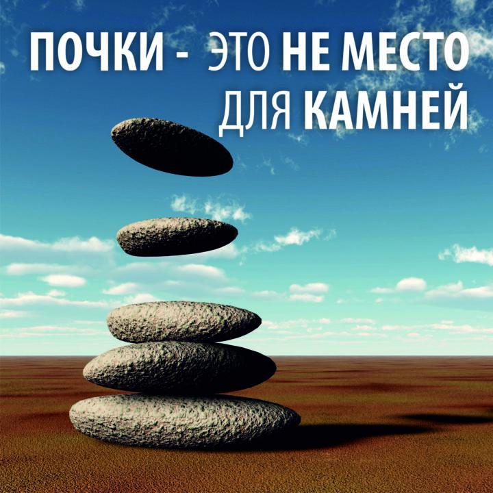 Почки — это не место для камней!